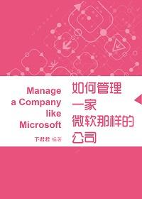 如何管理一家微软那样的公司