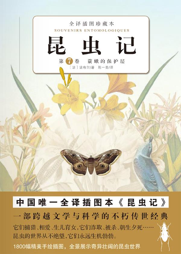 昆虫记(第7卷)蓑蛾的保护层