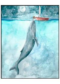 《入江之鲸》