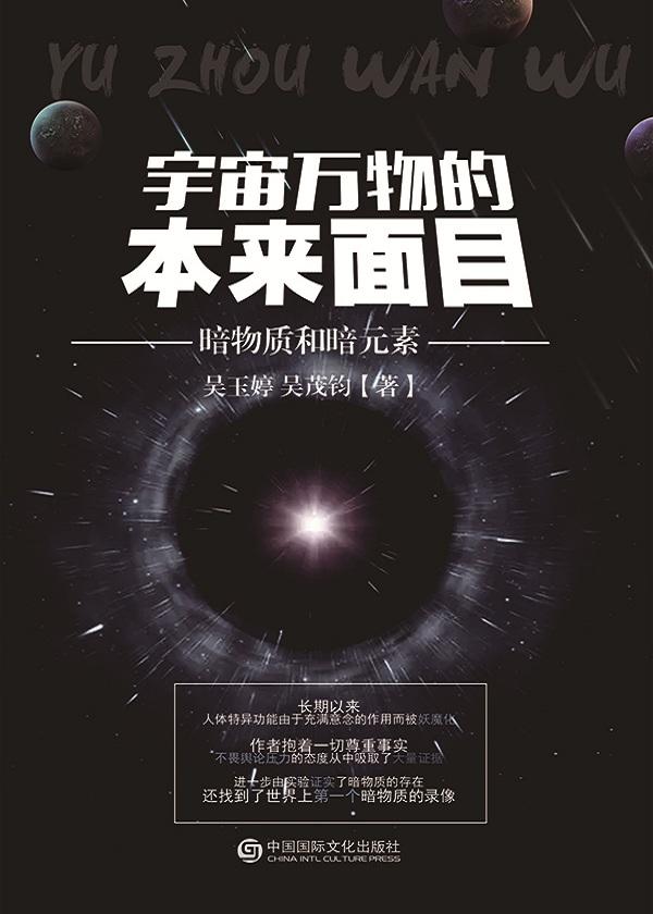 宇宙万物的本来面目:暗物质和暗元素