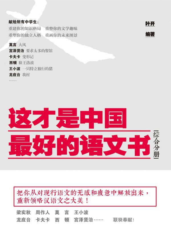 这才是中国最好的语文书·综合分册
