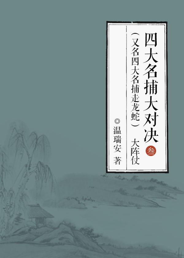 四大名捕大对决(又名四大名捕走龙蛇)3:大阵仗