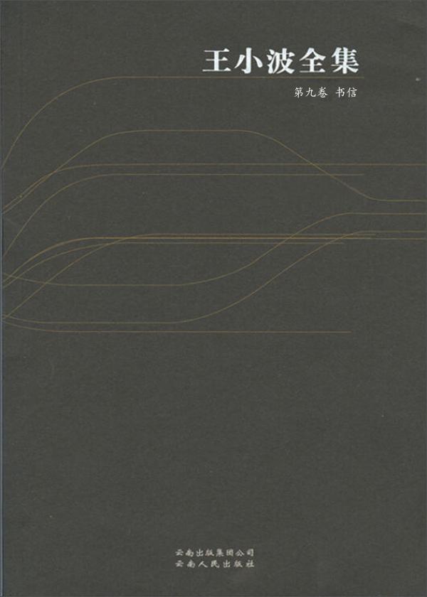 王小波全集·第九卷:书信