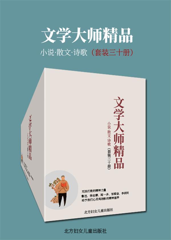 文学大师精品(套装三十册)