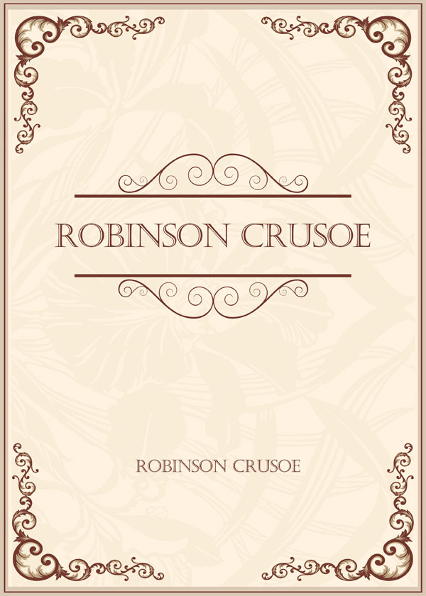 Robinson Crusoe(鲁滨逊漂流记)