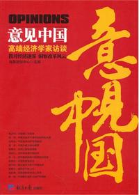 意见中国:高端经济学家访谈