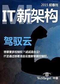 《IT新架构》2015初春刊:驾驭云