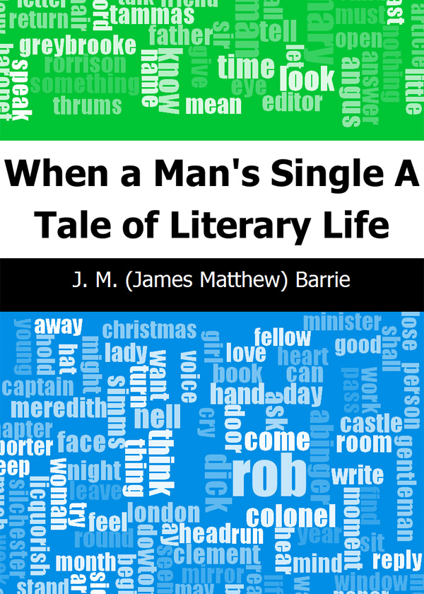 When a Man's Single: A Tale of Literary Life