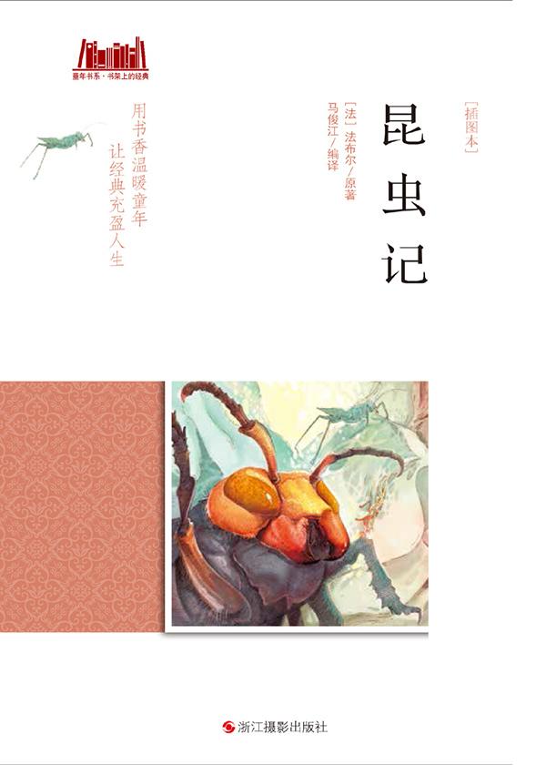 昆虫记[插图本](童年书系·书架上的经典)